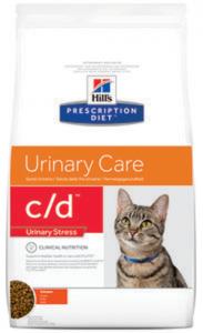 Hills Prescription Diet c/d Feline Urinary Stress Chicken 4 kg