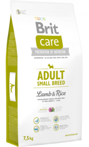 Brit Care Dog Adult Small Breed | Lamb & Rice 1 kg