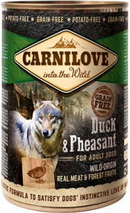 Carnilove Duck & Pheasant Adult Dog | Wet (Lata) 400 g