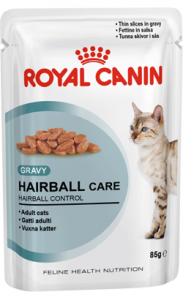 Royal Canin Hairball Care in Gravy | Wet (Saqueta) 12 X 85 g
