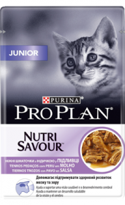 Pro Plan Cat Junior NutriSavour with Turkey | Wet (Saqueta) 6 X 85 g