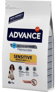 Advance Dog Sensitive | Salmon & Rice 3 Kg